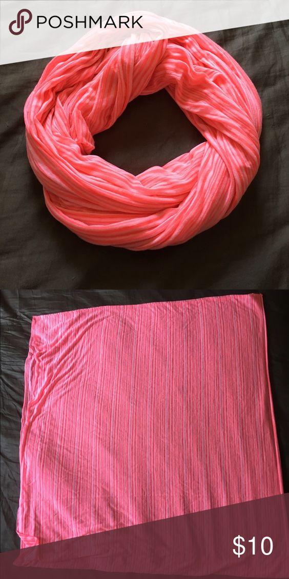 GAP Infinity Scarf GAP Infinity Scarf-Neon Pink-OS GAP Accessories Scarves & Wraps