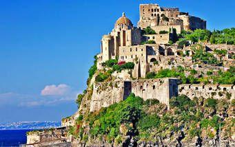 Schloss Aragonese auf Ischia