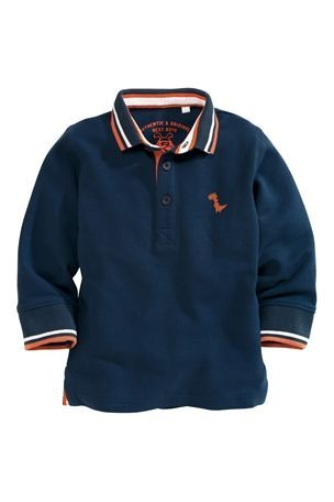 Buy Long Sleeve Polo (3mths-6yrs) from the Next UK online shop