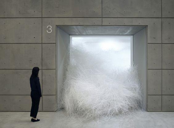 Tornado by japanese artist Tokujin Yoshioka - Attitude Interior Design Magazine