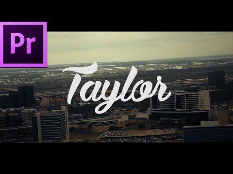 Simplistic Intro Premiere Pro Tutorial Free Template Download Youtube Premiere Pro Tutorials Intro Template Premiere Pro