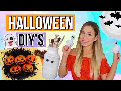 Halloween Bastelideen Youtube.Youtube Basteln Halloween Halloween Deko Selber Basteln