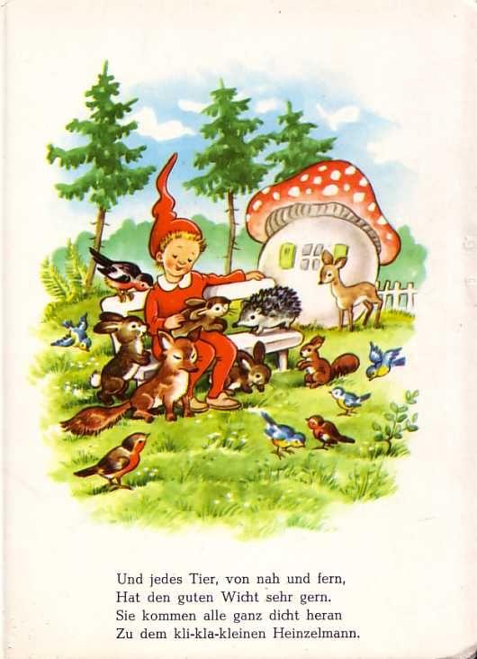 Frohe Wichtelmännlein Bilderbuch 60er Jahre Www