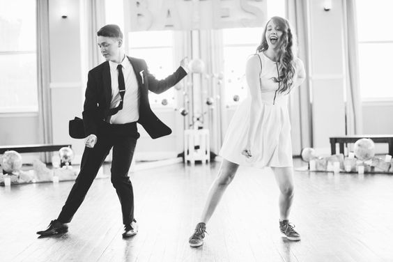 Hit the dance floor: http://www.stylemepretty.com/2015/04/09/unique-ways-to-include-siblings-in-your-wedding/: