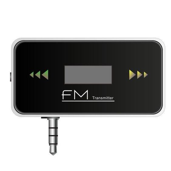 Car Stereo FM Transmitter for Smart Phone Foldable 3.5mm Headphone Jack #UnbrandedGeneric