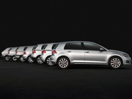 VW Golf 30 million copies Anniversary compact car 2013 Volkswagen