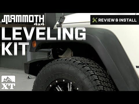 Mammoth Wrangler Leveling Kit J101068 07 17 Wrangler Jk Free
