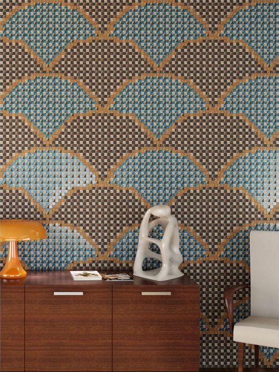Glass Mosaic DIALOGHI by Mosaico+ | Design Francesco Lucchese #mosaic #interiors: