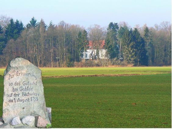 ⚔ 1. August 1759 – Gefecht bei Gohfeld ➹