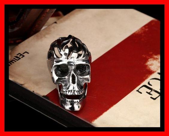 Mooie Exclusieve grote skull hanger