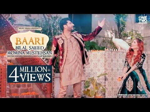 Baari By Bilal Saeed And Momina Mustehsan Official Music Video Latest Song 2019 Youtube Music Videos Songs Amazon Prime Music