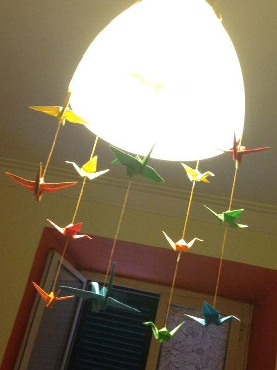 Decorazione lampadario