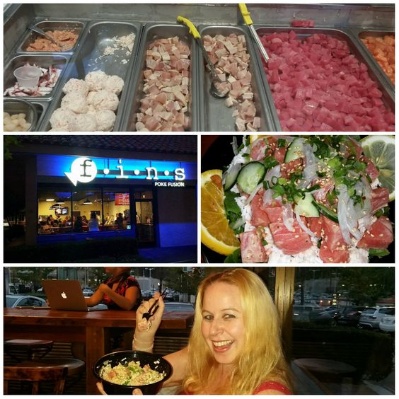 I recently went to visit FINS Poke Fusion in Mission Viejo.  It was my first time at the restaurant and some of the friends that we were with were explaining to us how they used to be an all-you-ca...