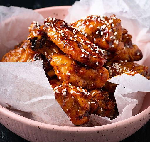 Crispy Baked Hot Wings Marion S Kitchen Recipe Baked Hot Wings Hot Wings Crispy Chicken Wings