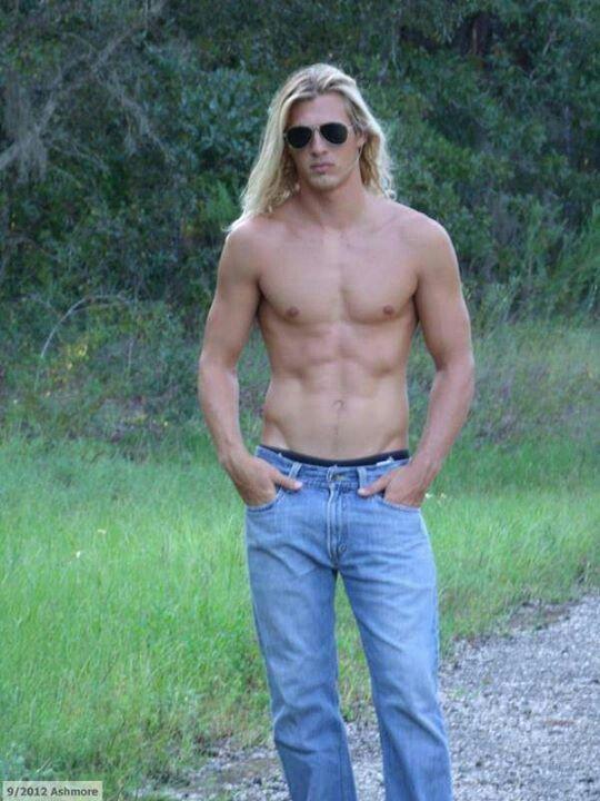 how to make long hair look good guys