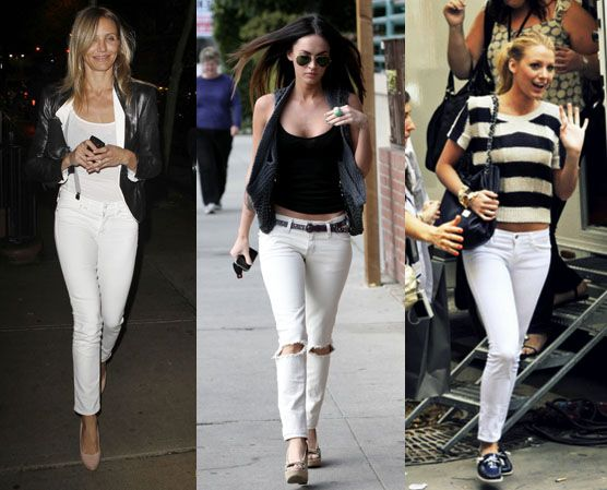 White jeans for women skinny – Global fashion jeans collection