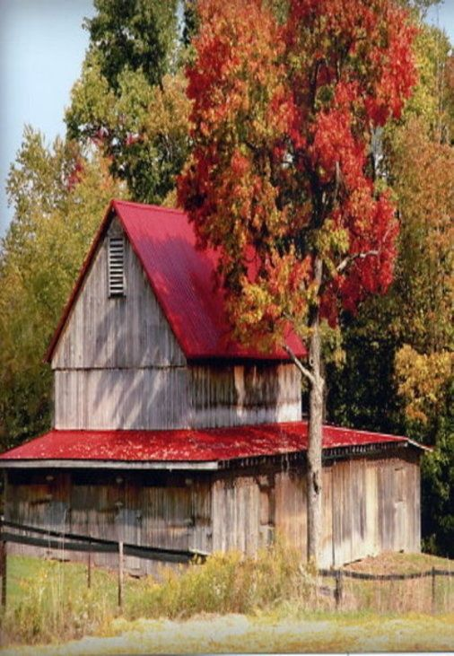 Best Red Roof Barn Barns Pinterest Red Roof Barns And Red 400 x 300