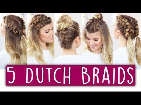 5 Easy Instagram Frisuren Fur Mittel Lange Haare Dutch Braid Mit Kleinstad Geflochtene Frisuren Fur Kurze Haare Hollandischer Zopf Kurze Haare Anleitungen