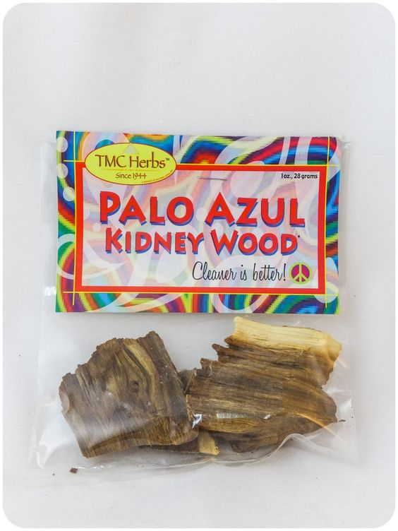 Palo Azul Kidney Wood Herbal Tea Tex Mex Curios Herbal Detox Tea Herbalism Natural Detox Tea