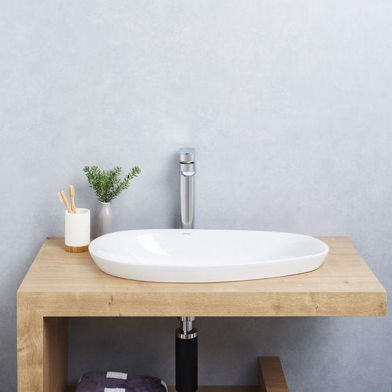 Contura Tower Basin Mixer #bathroom #design #trends #timbervanity - glasbilder für küche