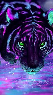 اجمل خلفيات موبايل 2020 Mobile Wallpapers Top4 Tiger Art Cat Painting Animal Wallpaper