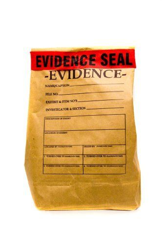 Evidence bag with seal LARGE by Red herring games