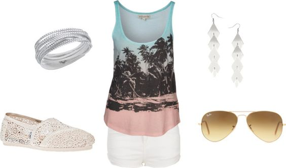 """Summer"" by realgirlsdribble on Polyvore"