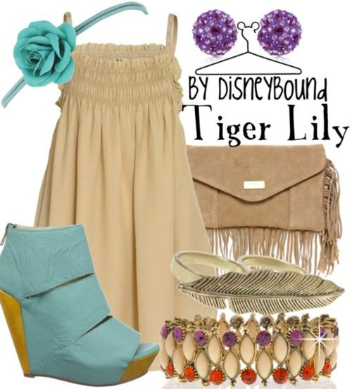 Tiger Lily from Peter Pan.