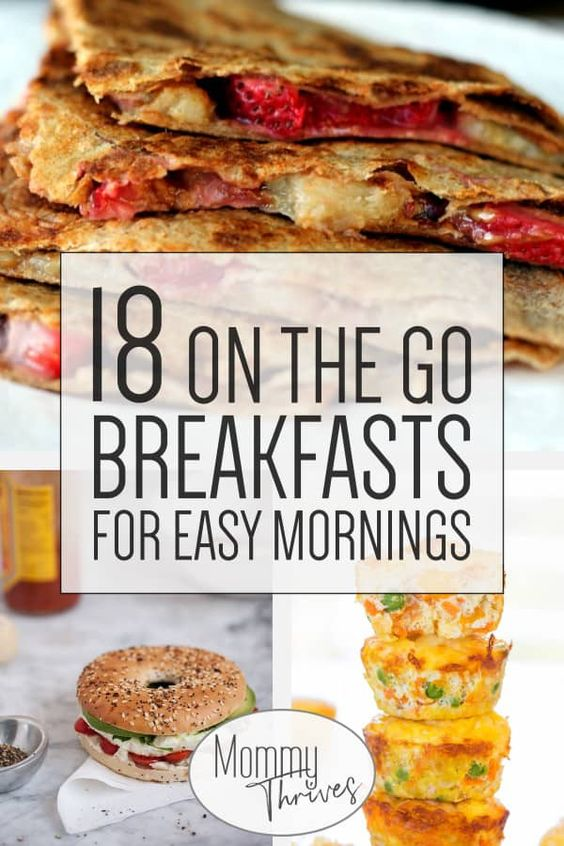 18 Quick Healthy Breakfast Recipes - Mommy Thrives