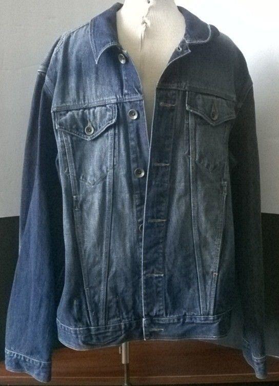 Sean John Denim Jean Jacket size XL Blue Denim | Jean jackets