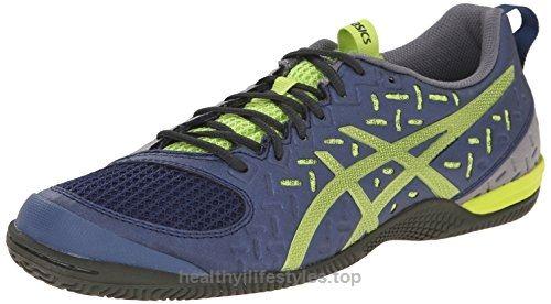 Zapato de entrenamiento Gel-Unifire TR 2 para hombre, color carb¨®n / plateado / negro, 13 M US