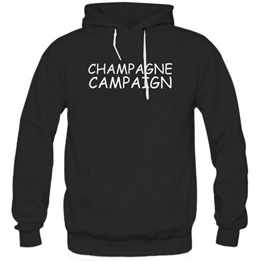 Champagne Campaign Ladies Muscle Hoodie     * Available Color : Black and White * Size : S, M, L, XL, XXL #hoodie #clothing #apparel #pinnTee