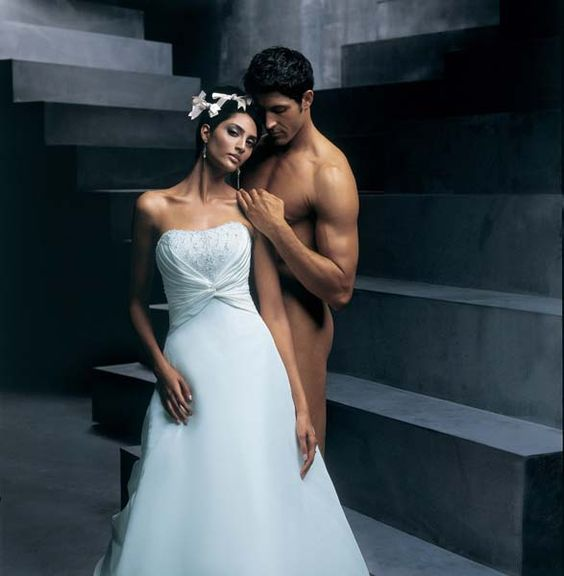 Wedding dress sale man outfit and dress sale on pinterest for Ugly wedding dresses for sale