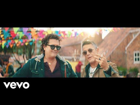 Carlos Vives Alejandro Sanz For Sale Official Video Youtube Carlos Vives Musica Colombiana Musica