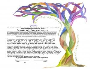 We like the ribbony aspect, the text, and the tree