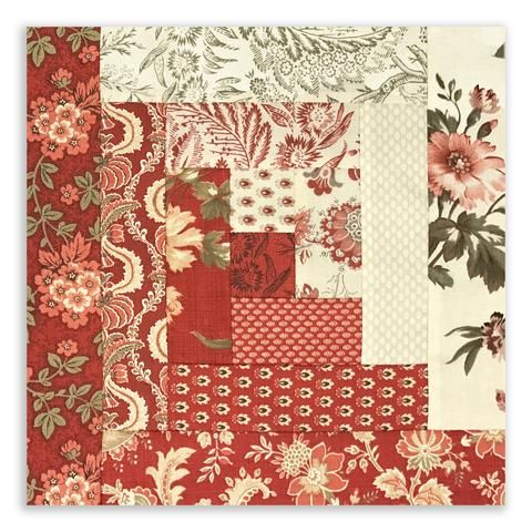 Fleur De Noel Quilt Pattern by French General and Kaari Meng