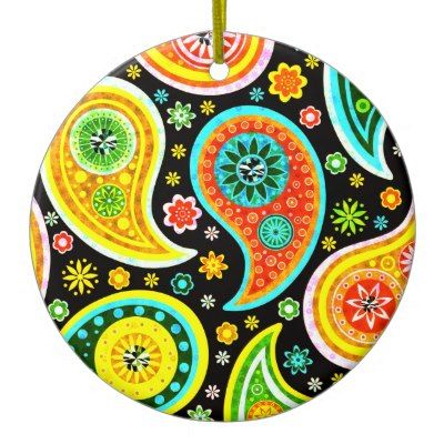 Paisley Design Clip Art