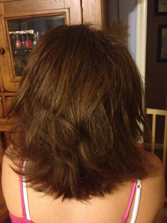 Razored Layered Bob Medium Length Hair Sara S Hair