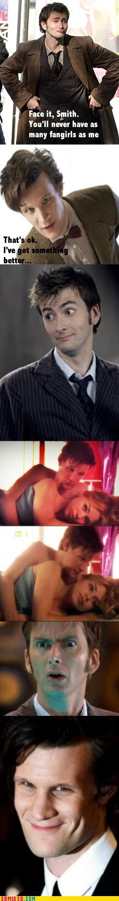 David's duckface in the first shot... Lol!