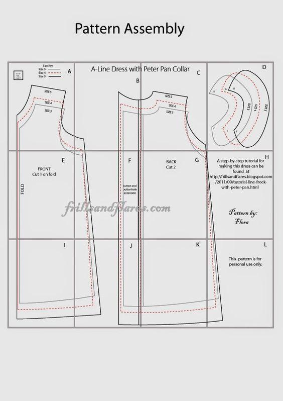 shirt collar pattern pdf free