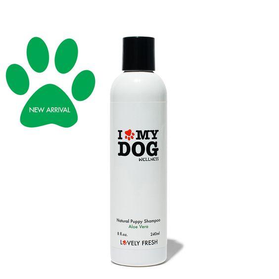 Natural Puppy Shampoo Aloe Vera