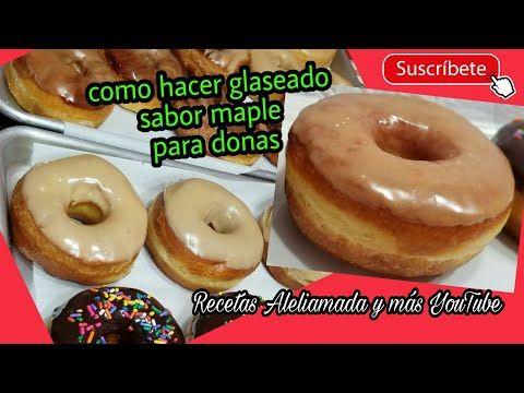 Como Hacer Donas Las Mas Esponjaditas Del Mundo Medidas En Tazas Youtube Spanish Desserts Desserts Food