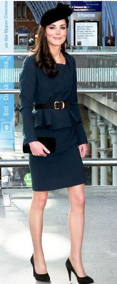 Jacket and Dress – LK Bennet    Shoes – Rupert Sanderson