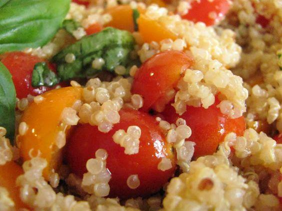 Louanne's Kitchen: Tomato Basil Quinoa