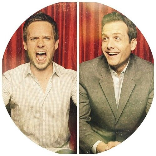Patrick J. Adams & Gabriel Macht #suits