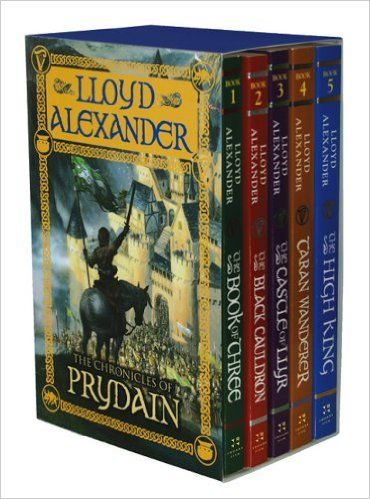 The Chronicles of Prydain: (1) The Book of Three; (2) The Black Cauldron; (3) The Castle of Llyr; (4) Taran Wanderer; (5) The High King BY Lloyd Alexander: