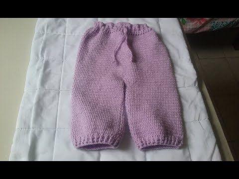 Calca Infantil Em Croche 5 A 7 Meses Como Fazer Calca Infantil Em