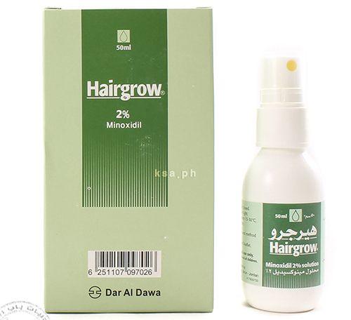 هيرجرو بخاخ لعلاج تساقط الشعر Hairgrow Spray Shampoo Bottle Shampoo Minoxidil