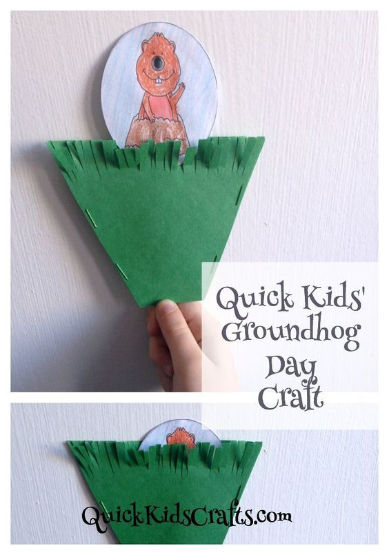 Pinterest the world s catalog of ideas for Groundhog day crafts for preschoolers