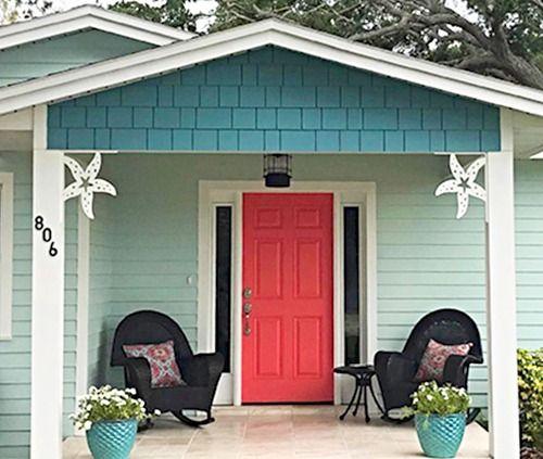 Decorative Corner Brackets With A Coastal Sea Life Shore Bird Theme Beach Cottage Exterior Beach House Colors Beach House Decor
